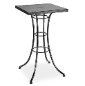 "Embossed 24"" Square Bar Table"