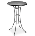 """Embossed 30"""" Square Bar Table (with Hole)"""