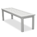 "Dockside 50.5"" x 16"" Rectangular Bench - Slotted"