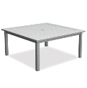 "Dockside 45"" Square Chat Table"