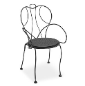 Espresso Cafe Chair - Padded