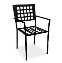 Manhattan Cafe Chair - Checkered