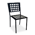 Manhattan Side Chair - Checkered